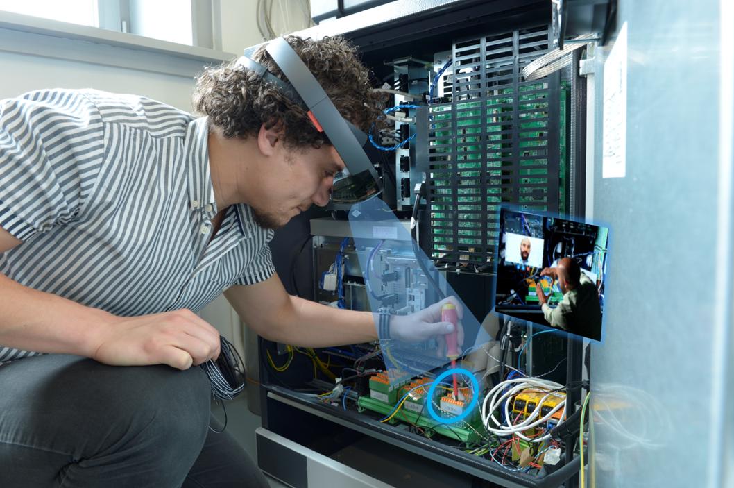 Remote Assistance ( © Hochschule Furtwangen)